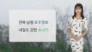 [날씨] 내일 요란한 소나기…주중반 충청이남 장맛비