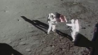 """달 착륙 50주년…""""인류의 위대한 도약"""""""