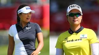 고진영 - 이민지, LPGA 투어 신설 2인 1조 대회 첫날 3위