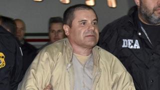 마약왕 구스만 평생 감옥에…추징액만 14조원