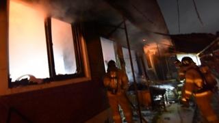 충남 서천 단독주택서 불…70대 독거노인 사망