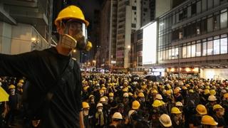 """홍콩시위 대학생 지도부 """"가족 살해 협박받아"""""""