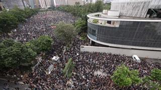 홍콩 대규모 집회 시작…중국군 투입 분수령