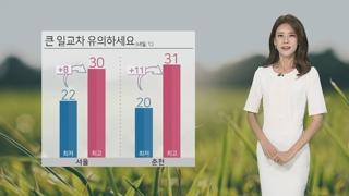 [날씨] 절기 '처서'·큰 더위 없어…선선한 바람