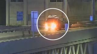'차 안에서 병나발'…아찔한 고속도로 역주행