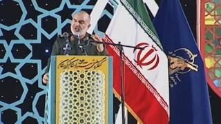 """이란 혁명수비대 """"신형 미사일 시험 발사"""""""