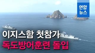[영상] 해군, 독도방어훈련 전격 돌입…이지스함 첫참가