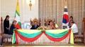 Corea del Sur y Myanmar alcanzan un acuerdo cumbre para impulsar sus lazos econó..