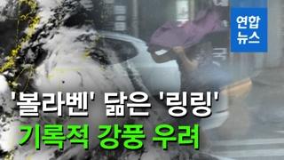 [영상] 역대급 태풍 '링링' 비상…7년 전 '볼라벤' 닮은꼴