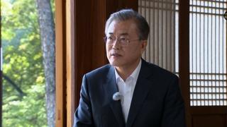 """실향민 가족 문 대통령 """"이산가족 상봉 최우선 해결해야"""""""
