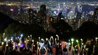 중추절 연휴에도 홍콩 민주화 시위 계속