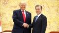 Moon y Trump sostendrán este mes una cumbre bilateral en Nueva York