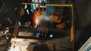 부산진구 주상복합 승강기 멈춤사고…5명 구조