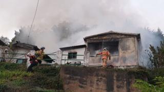 경남 진주 단독주택에 불…인명피해 없어
