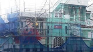 [핫클릭] 홍대 술집 '인공기·김일성 사진' 장식 논란 外