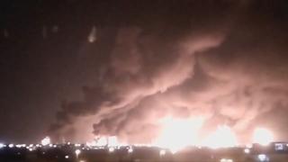 """사우디군 """"석유시설 공격에 이란산 무기 사용돼"""""""