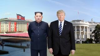 """트럼프 """"평양방문, 준비안돼…아직 갈길 남아"""""""