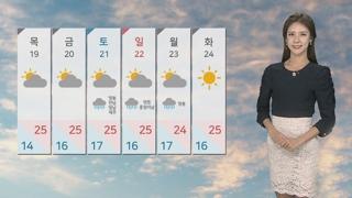 [날씨] 내일 오후부터 찬바람…모레 서울 아침 14도