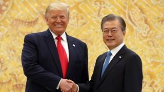 """문 대통령-트럼프 23일 회담…""""비핵화·동맹 협의"""""""