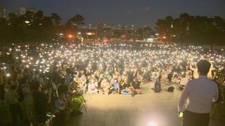 서울대·고려대·연세대 '조국 반대' 촛불집회