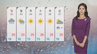 [날씨] 태풍 '타파' 북상 중…주말 전국 비바람