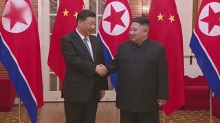 """김정은, 시진핑에 답전…""""조중친선 공고 발전"""""""