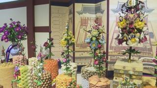 비단으로 만든 궁중 꽃 가득…한국궁중꽃박물관 개관