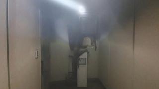 세종 도담동 아파트 5층서 불…50여명 대피