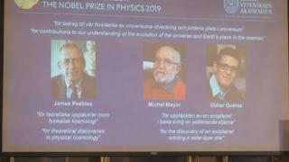 노벨물리학상, 우주진화비밀 밝힌 피블스 등 3명