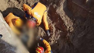 김천 하수도 공사 중 작업자 2명 깔려…1명 사망