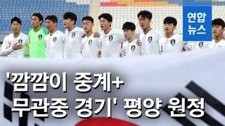 [영상] '깜깜이 중계+무관중 경기'…말레이 거쳐 문자로 연락