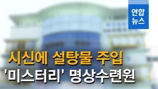 [영상] 제주 명상수련원 '사망 미스터리'…시신 닦고 설탕물 주입