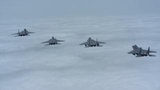러시아 군용기 6대 카디즈 침범…F-15K 출격