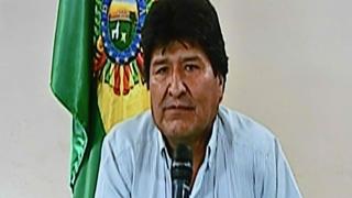 볼리비아 모랄레스 대통령, 대선부정 논란에 결국 사퇴