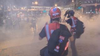 최악 치닫는 홍콩사태…경찰 위급상황 아닌데 실탄 쏴