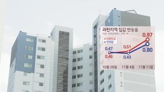 분양가 상한제 풍선효과?…논란의 과천·목동 집값 '쑥'