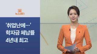 [사이드 뉴스] '취업 후 상환 학자금' 체납률 4년 내 최고 外