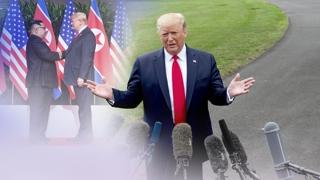 """트럼프 """"필요시 무력 사용가능…비핵화합의 지켜야"""""""