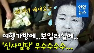 [영상] 여행가방에 5억5천만원 어떻게 넣었나…체납자들의 기막힌 수법