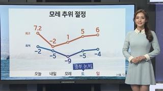 [날씨] 내일 영하권 추위…밤사이 충청·호남 눈 조금