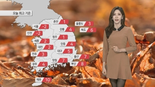 [날씨] 낮에도 영하권 추위…한파특보 차차 확대