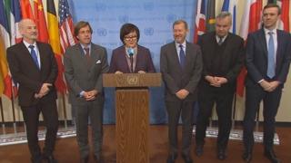 UN안보리, 北발사체 비공개회의…유럽 6개국 北규탄 성명