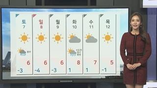 [날씨] 내일 추위 절정 서울 -9도…호남 서해안 눈