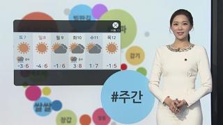 [날씨트리] 출근길 추위 절정…대관령 -16℃·서울 -9℃