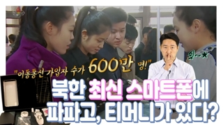 [연통TV] 북한도 스마트폰이 '대세'…파파고·티머니는 기본?