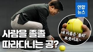 [영상] 강아지처럼 졸졸…삼성전자가 CES서 공개한 로봇 '볼리'