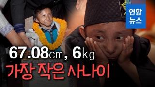 [영상] 키 67㎝, 몸무게 6kg…세계에서 가장 작은 사나이 사망
