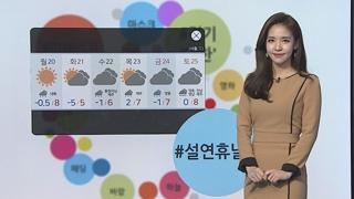 [날씨트리] 절기 '대한' 큰 추위 없어…전국 공기질 나쁨