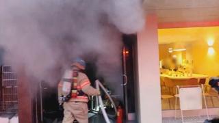 서울 창동 가죽 공장서 불…1명 부상