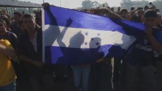 멕시코, 미국행 캐러밴 북상 저지…과테말라 국경서 발 묶여